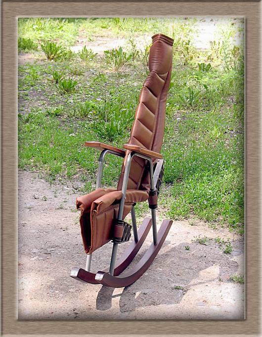 Как из старого кресла сделать кресло-качалку